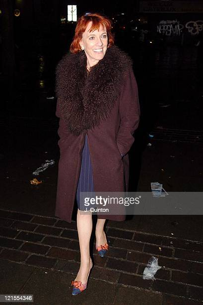 Esther Rantzen during Esther Rantzen Driving Charge Court Hearing at Highbury Corner Magistrates Court in London Great Britain