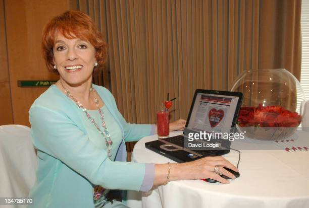 Esther Rantzen during HEART UK Launch in London Great Britain