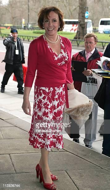 Esther Rantzen during Lunch Memorial for Sir John Mills at the Grosvenor House Hotel in London April 9 2006 at Grosvenor House Hotel in London Great...