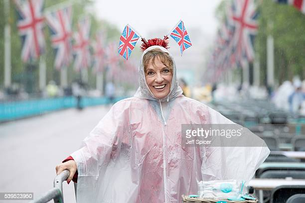 Esther Rantzen during 'The Patron's Lunch' celebrations for The Queen's 90th birthday at The Mall on June 12 2016 in London England