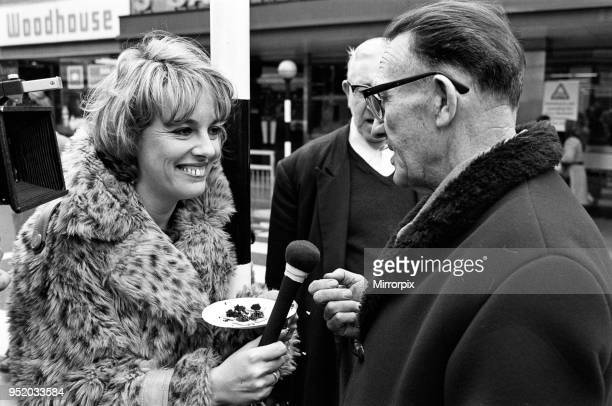 Esther Rantzen filming 'That's Life' 21st February 1976
