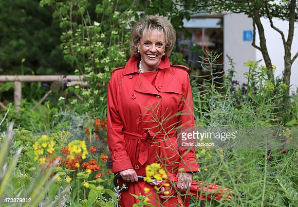 Esther Rantzen poses for a photograph at the Sentebale 'Hope In Vunerability' Garden during the annual Chelsea Flower show at Royal Hospital Chelsea...