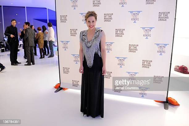 Esther Robinson attends the 5th Annual Cinema Eye Honors for Nonfiction Filmmaking at the Museum of the Moving Image on January 11 2012 in the Queens...