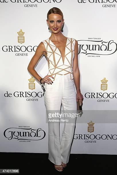 Esther Satorova attends the De Grisogono party during the 68th annual Cannes Film Festival on May 19 2015 in Cap d'Antibes France