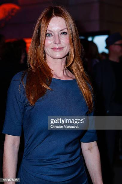 Esther Schweins attends the Blue Hour Reception during the 65th Berlinale International Film Festival on February 6 2015 in Berlin Germany