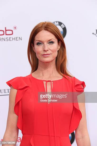Esther Schweins attends the Lola - German Film Award 2016 on May 27, 2016 in Berlin, Germany.