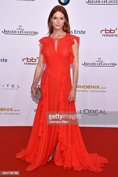 Esther Schweins attends the Lola - German Film Award on May 27, 2016 in Berlin, Germany.
