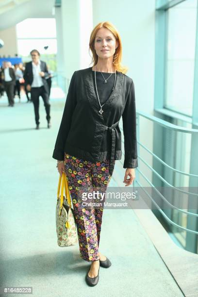 Esther Schweins attends the '#weiles2017ist' Reception And Closing Ceremony at Bundeskanzleramt on July 17 2017 in Berlin Germany
