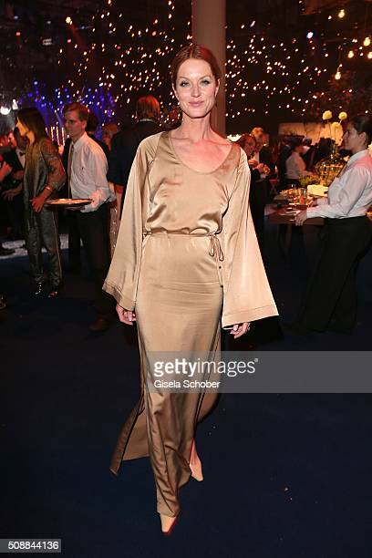 Esther Schweins during the after show party of the Goldene Kamera 2016 on February 6 2016 in Hamburg Germany