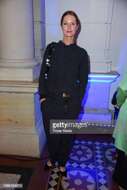 Esther Schweins during the Blue Hour Party hosted by ARD during the 69th Berlinale International Film Festival at Haus der Kommunikation on February...