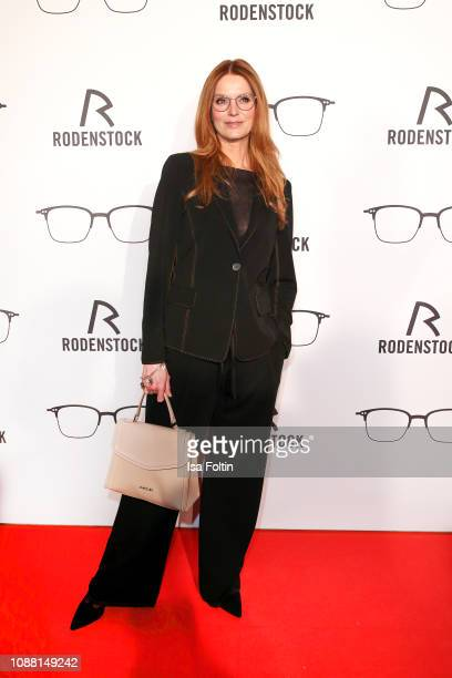 Esther Schweins during the Rodenstock Eyewear Show 'A New Vision of Style' at Isarforum on January 24 2019 in Munich Germany