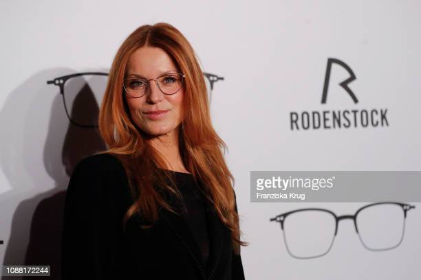 Esther Schweins during the Rodenstock Eyewear Show 'A New Vision of Style' at Isarforum on January 24, 2019 in Munich, Germany.