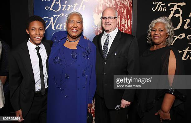 Esther Scott and guests attend the Los Angeles Premiere of Fox Searchlight's The Birth of a Nation on September 21 2016 in Los Angeles California