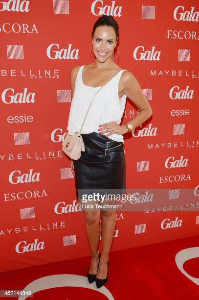 Esther Sedlaczek attends the Gala Fashion Brunch at Ellington Hotel on July 11 2014 in Berlin Germany