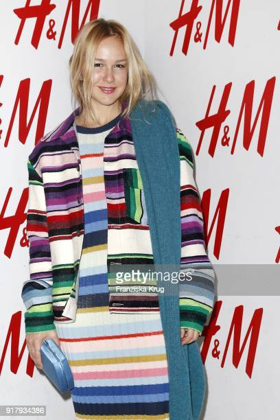 Esther Seibt during the Inter/VIEW X HM Party on February 13 2018 in Berlin Germany