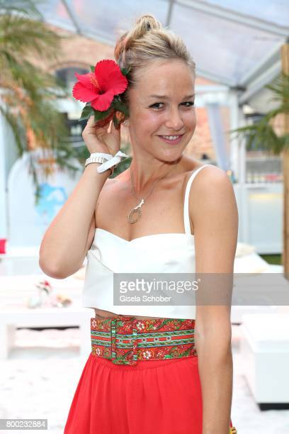 Esther Seibt during the Raffaello Summer Day 2017 to celebrate the 27th anniversary of Raffaello at 'Koenigliche Porzellan Manufaktur' Berlin on June...