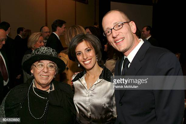 Esther Waxman Yoni Leifer and Jamie Leifer attend American Friends of Shalva Annual Dinner at Pier 60 on March 5 2006 in New York City