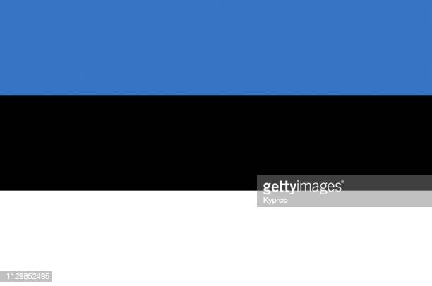 estonia flag - estonia stock pictures, royalty-free photos & images