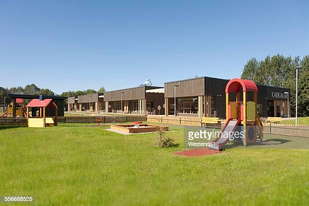 Estonia, playground of newly built kindergarten