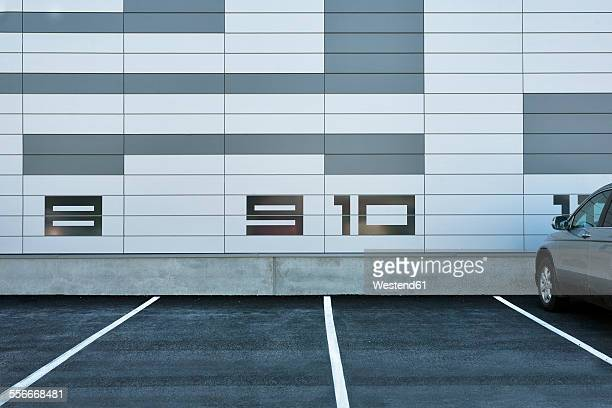 Estonia, Tallinn, parking lots