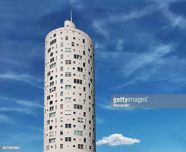 Estonia, Tartu, high-rise residential building Tigutorn