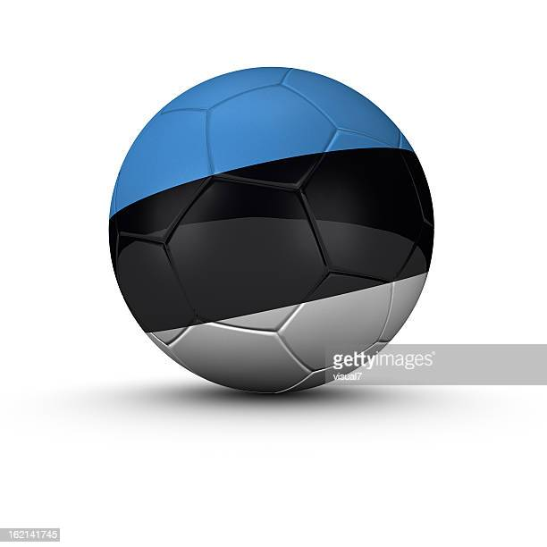 estonian soccer ball - estland bildbanksfoton och bilder