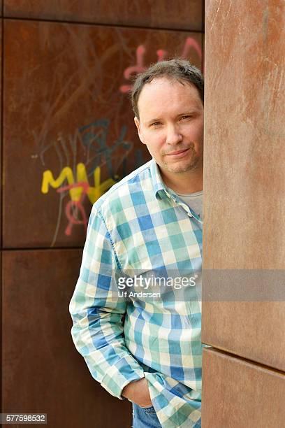 PARIS FRANCE JUNE 15 Estonian writer Andrei Ivanov poses during portrait session held on June 15 2016