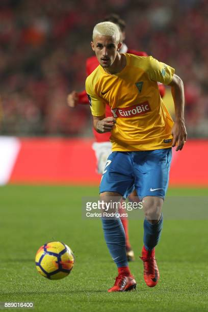 Estoril Praia defender Fernando Fonseca from Portugal during the match between SL Benfica and Estoril Praia SAD for the Portuguese Primeira Liga at...