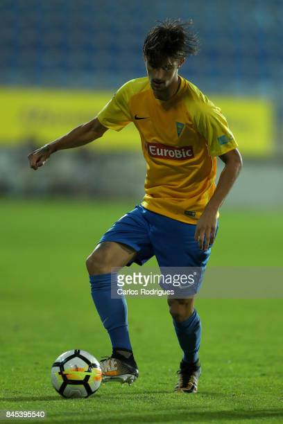 Estoril Praia defender Fernando from Portugal during the match between GD Estoril Praia and Moreirense FC for the round five of the Portuguese...