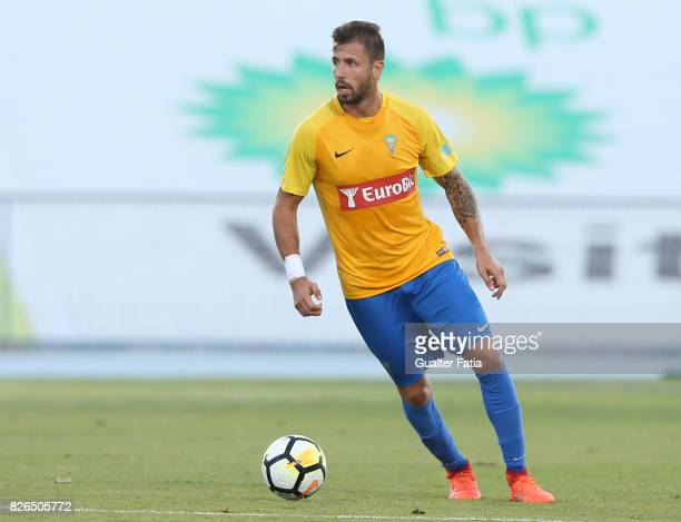 Estoril Praia defender Goncalo Brandao from Portugal in action during the PreSeason Friendly match between CF Os Belenenses and GD Estoril Praia at...