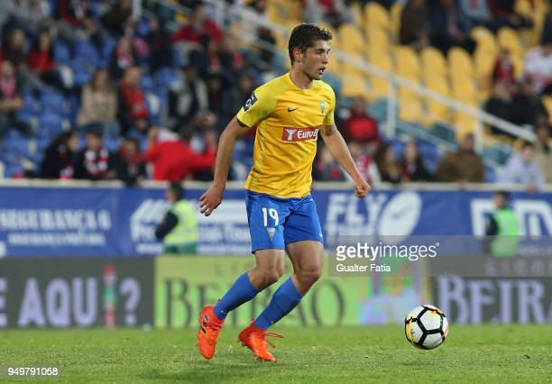 Estoril Praia midfielder Duarte from Portugal in action during the Primeira Liga match between GD Estoril Praia and SL Benfica at Estadio Antonio...