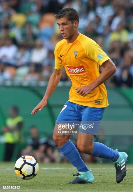 Estoril Praia midfielder Duarte Valente from Portugal in action during the Primeira Liga match between Sporting CP and GD Estoril Praia at Estadio...