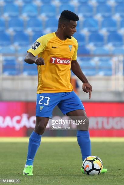 Estoril Praia midfielder Wesley from Brazil in action during the Primeira Liga match between GD Estoril Praia and SL Benfica at Estadio Antonio...