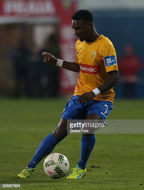 Estoril Praia's defender Mano in action during the Primeira Liga match between GD Estoril Praia and SL Benfica at Estadio Antonio Coimbra da Mota on...
