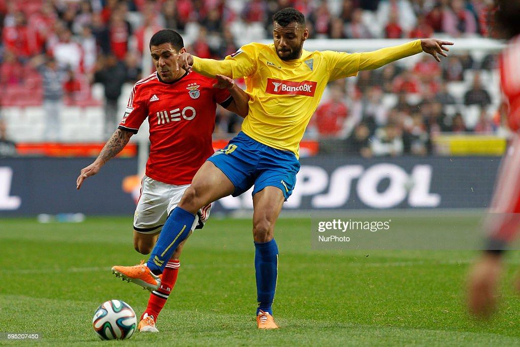 Portuguese Liga: Benfica 2 - 0 Estoril Praia : News Photo