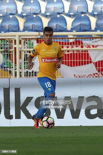 Estoril's forward Alisson Farias from Brazil during the match between Estoril Praia SAD and SC Braga for the Portuguese Primeira Liga at Estadio...