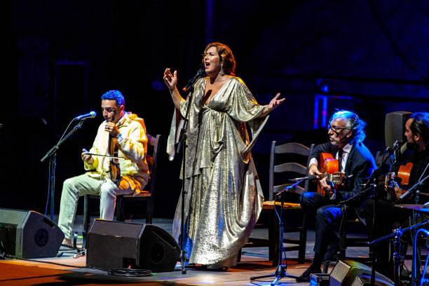 ESP: Estrella Morente And Diego El Cigala Concert - Starlite Festival 2020