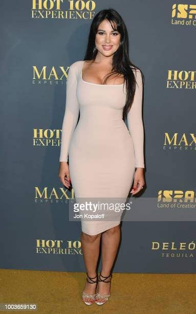 Estrella Nouri attends The Maxim Hot 100 Experience at Hollywood Palladium on July 21 2018 in Los Angeles California