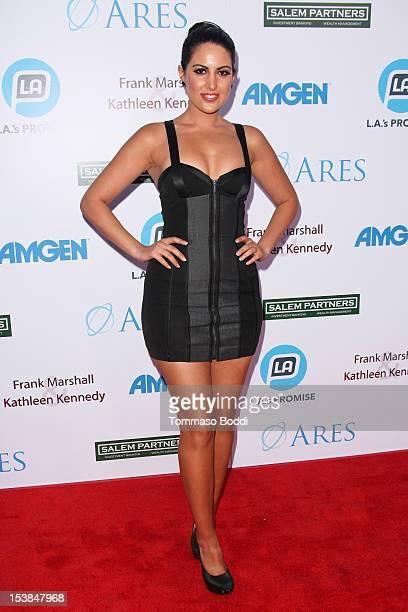 Estrella Nouri attends the LA's Promise 2012 Gala held at LA Live Event Deck on October 9 2012 in Los Angeles California