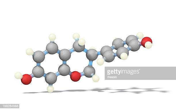 estrogen - equol - oestrogen stock pictures, royalty-free photos & images