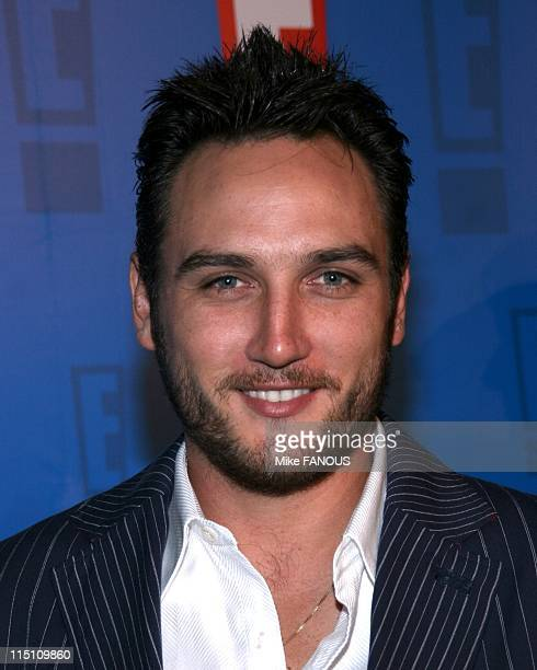 Summer splash in Hollywood United States on August 01 2005 Alex Quinn and guest at the E Summer Spash event at the Roosevelt Hotel
