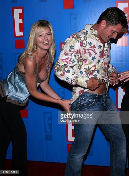 Summer splash in Hollywood United States on August 01 2005 Pamela Day and Reichen Lehmkuhl at the E Summer Spash event at the Roosevelt Hotel