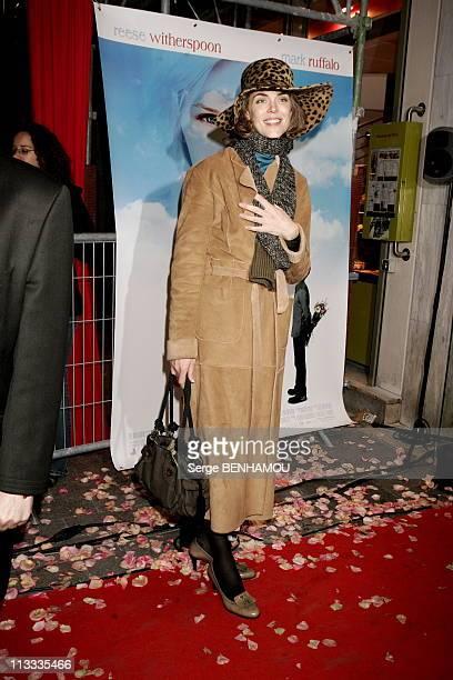 Et Si C'Etait Vrai Premiere In Paris On November 22Nd 2005 In Paris France Here Julie Andrieu