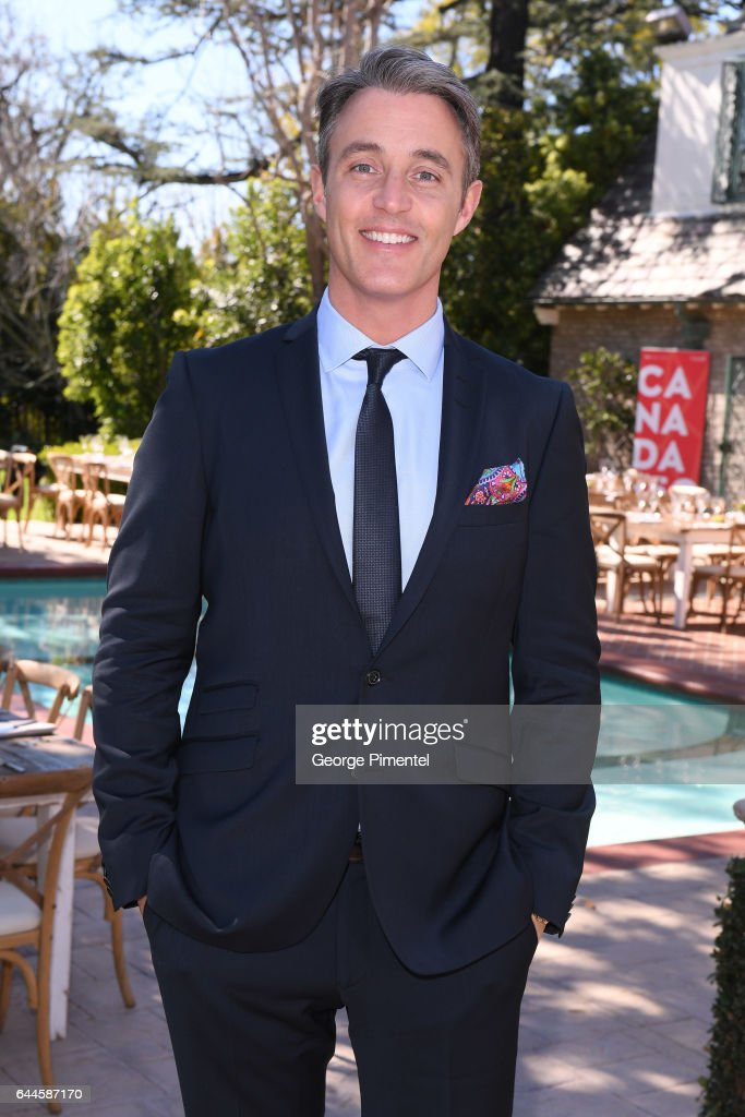 Brunch Reception Honoring Canadian Nominees For The 89th Academy Awards And The 32nd Film Independent Spirit Awards : Nieuwsfoto's
