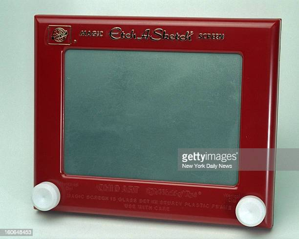 Etch A Sketch is a mechanical drawing toy invented by French inventor Andre Cassagnes and manufactured by Ohio Art Company in 1960