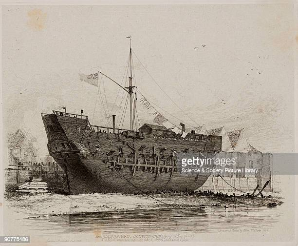 Etching after his own drawing by Edward William Cooke English navigator and explorer James Cook transformed the West�s knowledge of the Pacific and...