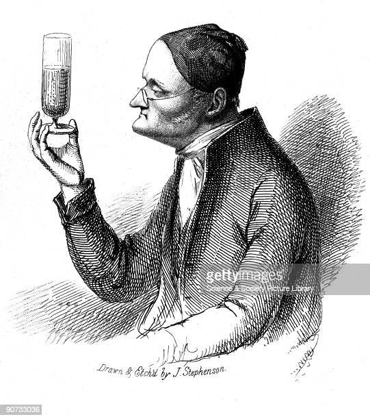 Etching by J Stephenson of John Dalton Dalton formulated the atomic theory to explain chemical reactions based on the concept that the atoms of...