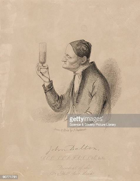Etching by J Stephenson of John Dalton . John Dalton formulated the atomic theory to explain chemical reactions, based on the concept that the atoms...