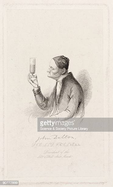 Etching by J Stephenson of John Dalton John Dalton formulated the atomic theory to explain chemical reactions based on the concept that the atoms of...
