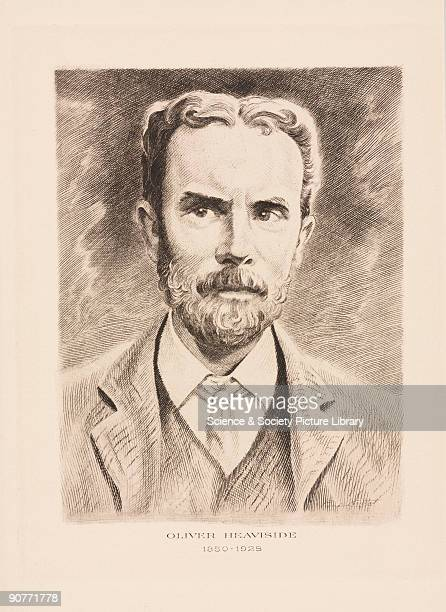 Etching of Heaviside who was a founder of the theory of cable telegraphy He predicted the existence of the conducting layer in the earth's upper...